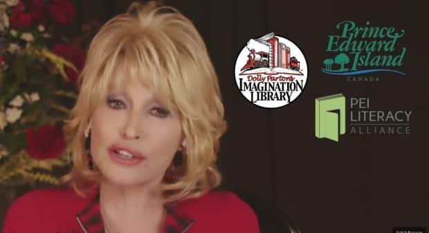 Dolly Parton sent her thanks to P.E.I. for joining her charity initiative. (Dolly Parton's Imagination Library/Facebook - image credit)