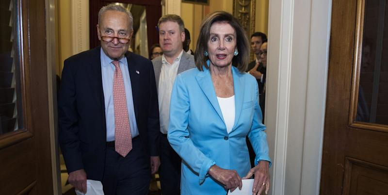 Over half of House Democrats support Trump impeachment inquiry
