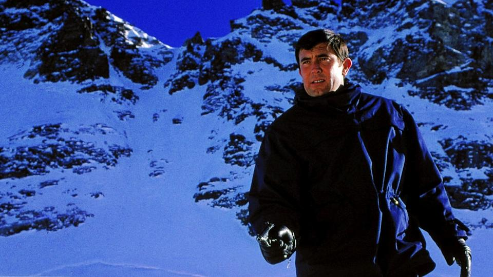George Lazenby as James Bond in 'On Her Majesty's Secret Service'. (Credit: United Artists)