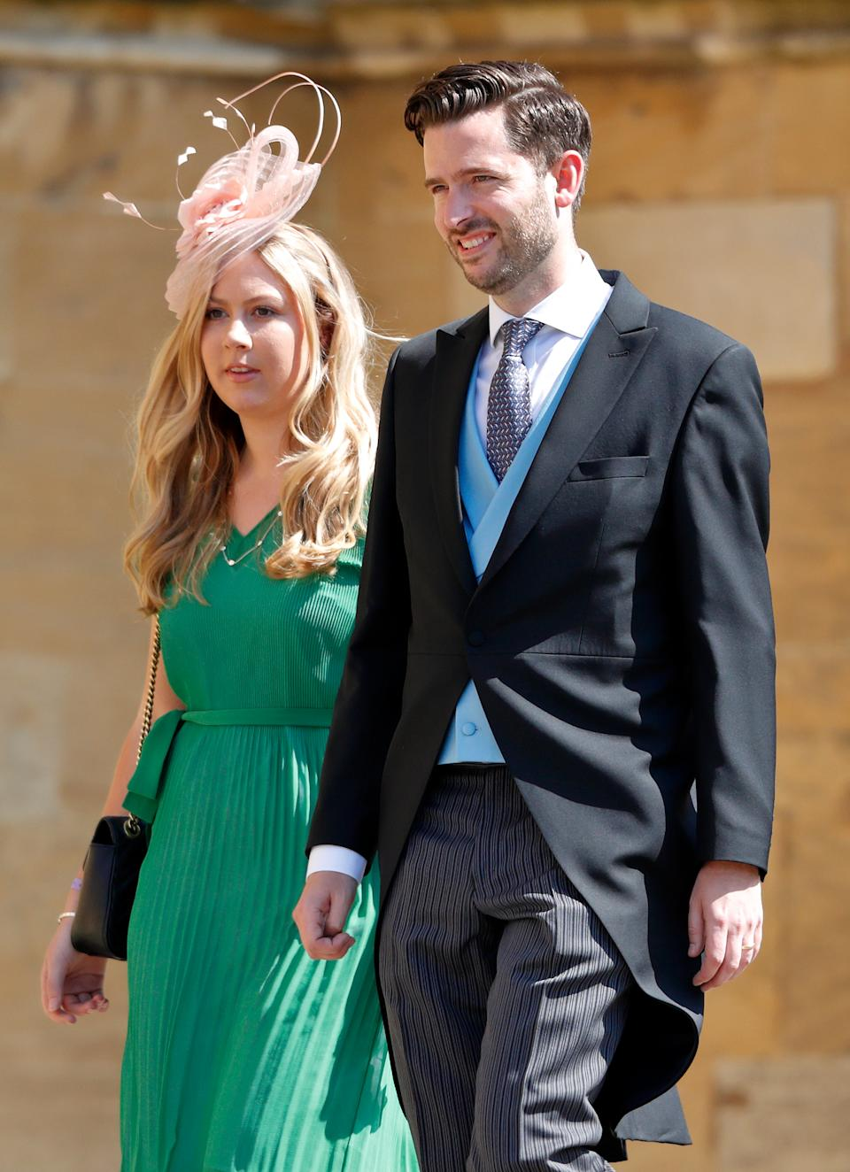 Jason Knauf, pictured here at Prince Harry and Meghan Markle's wedding. Photo: Getty