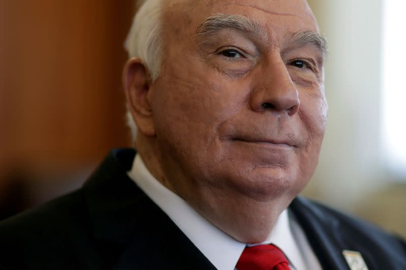FILE PHOTO: Robert Murray, chairman, president, and chief executive officer of Murray Energy Corporation, poses for a portrait in St. Clairsville, Ohio
