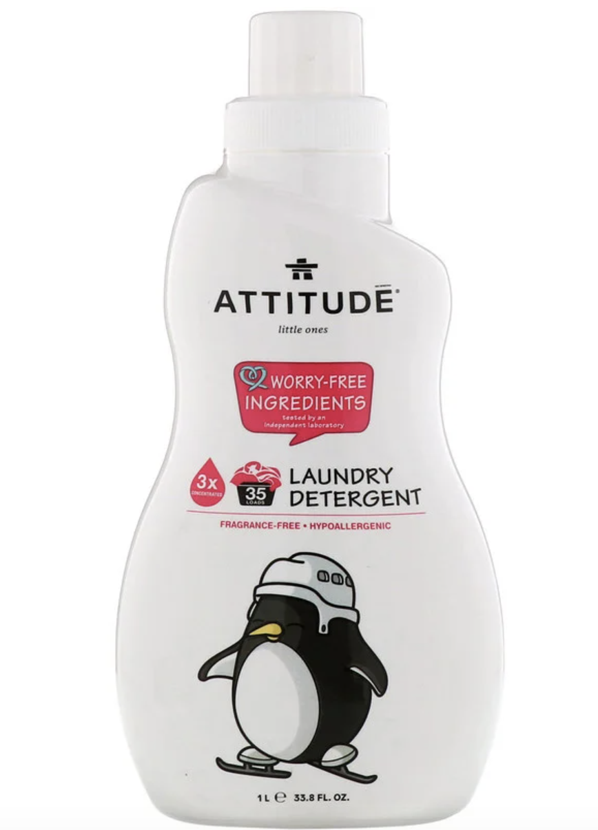ATTITUDE, Little Ones, Laundry Detergent, Fragrance-Free. PHOTO: iHerb