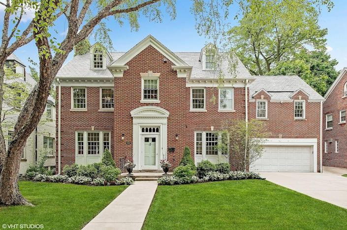 """<p>The traditional brick home where Molly Ringwald's character, Sam, dreaded her 16th birthday sits on a tree-lined street in a suburb just 30 minutes outside of Chicago. It has been on and off the market over the past few years but sold for more than <a href=""""https://www.chicagotribune.com/classified/realestate/elitestreet/ct-re-elite-street-sixteen-candles-evanston-20180706-story.html"""" rel=""""nofollow noopener"""" target=""""_blank"""" data-ylk=""""slk:$1 million in 2018"""" class=""""link rapid-noclick-resp"""">$1 million in 2018</a>. </p><p> 3022 Payne St, Evanston, IL 60201</p>"""