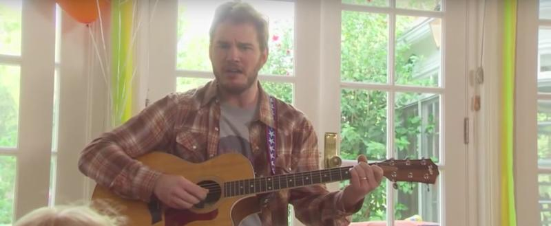 Chris Pratt Just Shared a Ridiculous Song That Was Cut From Parks and Recreation