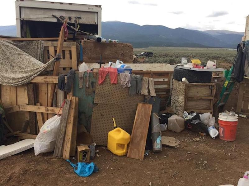 The compound where 16 people were found in Amalia, New Mexico, last week