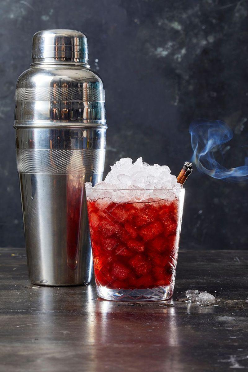 "<p>Shake up tart cherry juice with fall spices for a flavor-packed sip.</p><p><em><a href=""https://www.goodhousekeeping.com/food-recipes/a28552706/cherry-crush-recipe/"" rel=""nofollow noopener"" target=""_blank"" data-ylk=""slk:Get the recipe or Cherry Crush »"" class=""link rapid-noclick-resp"">Get the recipe or Cherry Crush » </a></em></p>"