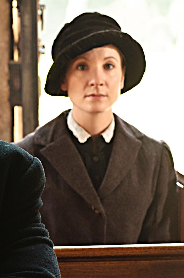 "Supporting Actress in a Drama Series: Joanne Frogatt, ""Downton Abbey"""
