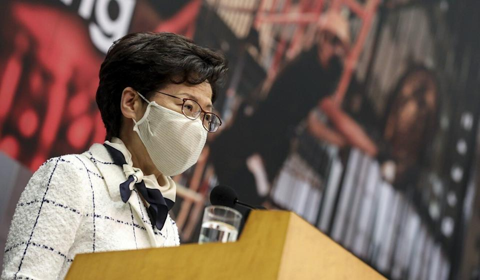 Chief Executive Carrie Lam has said there are problems in the city's education that have to be fixed. Photo: Winson Wong