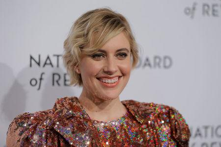 Director Greta Gerwig arrives to attend the National Board of Review awards gala in New York