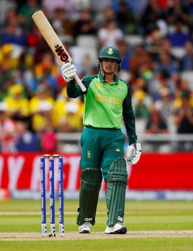 FILE PHOTO: ICC Cricket World Cup - Australia v South Africa