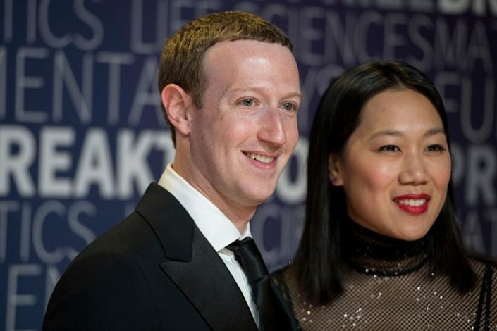 "Facebook CEO Mark Zuckerberg and his wife Priscilla Chan co-own the Chan Zuckerberg Initiative, an investment company with the stated goal being to ""advance human potential and promote equality in areas such as health, education, scientific research and energy."""