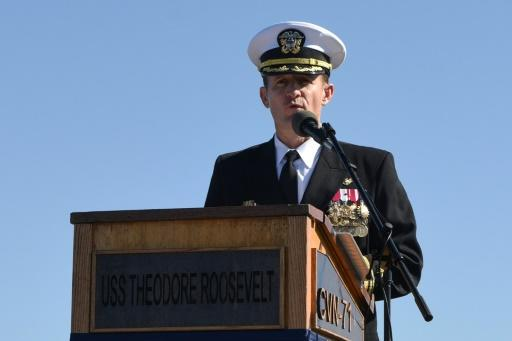Captain Brett Crozier, removed after making a plea for help for his crew as COVID-19 spread on his ship, has himself tested positive for the virus