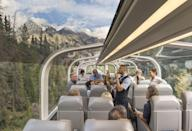 "<p>Another very special holiday for 2022 will see Good Housekeeping readers cross the Atlantic to the awe-inspiring mountain landscapes of Canada. </p><p>Riding on <a href=""https://www.goodhousekeeping.com/uk/lifestyle/travel/g29206452/rocky-mountaineer-train/"" rel=""nofollow noopener"" target=""_blank"" data-ylk=""slk:Rocky Mountaineer train"" class=""link rapid-noclick-resp"">Rocky Mountaineer train</a>, you'll enjoy SilverLeaf Service for breakfasts and lunches on board, and get to soak up breath-taking scenes from the comfort of one of the world's most luxurious trains. </p><p>There's plenty to enjoy while out and about too, with excursions including a ride high into the sky on the Banff Gondola and walking out above Columbia Icefield on the Skywalk.</p><p><strong>When?</strong> April - October 2022</p><p><strong>Duration: </strong>Nine days</p><p><strong>Price:</strong> £2,675 per person</p><p><a class=""link rapid-noclick-resp"" href=""https://www.goodhousekeepingholidays.com/tours/canada-rocky-mountaineer"" rel=""nofollow noopener"" target=""_blank"" data-ylk=""slk:FIND OUT MORE"">FIND OUT MORE</a></p>"