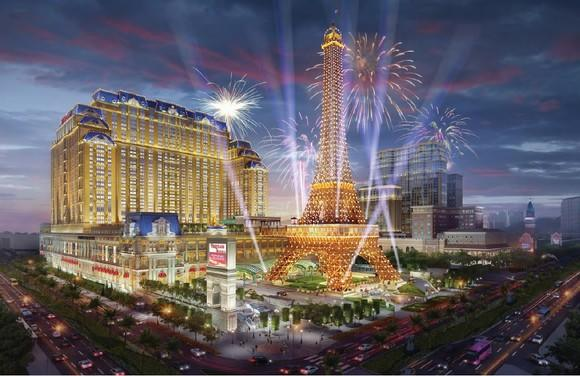 Rendering of The Parisian in Macau.