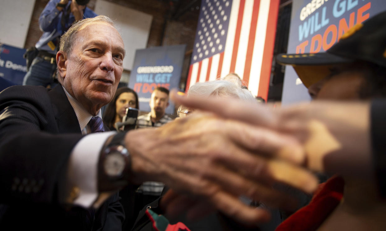 Image; Mike Bloomberg