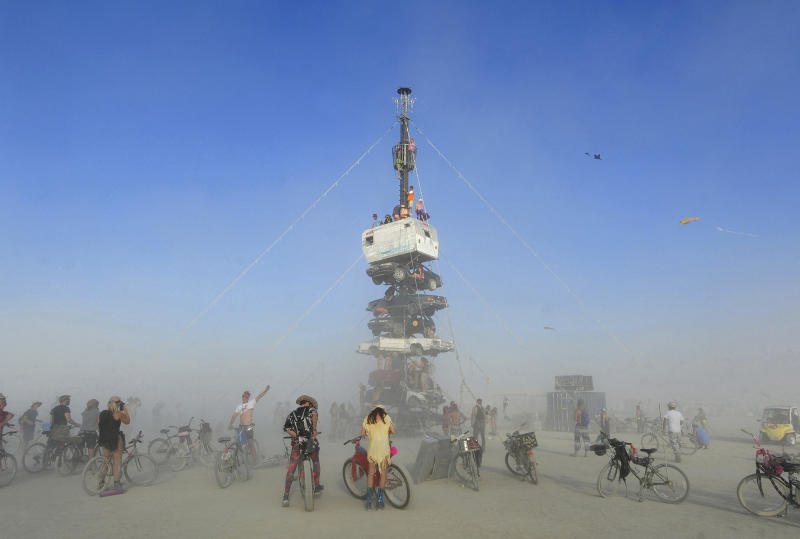 Burning Man Playa Dust