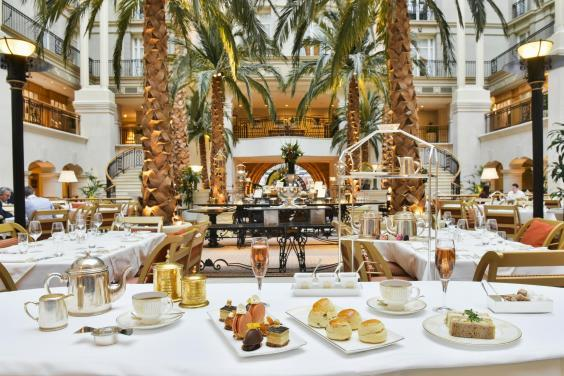 Enjoy afternoon tea in a 19th century courtyard (Landmark)