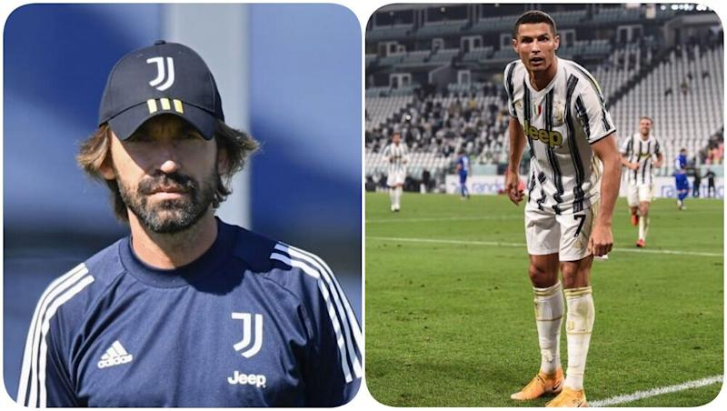 Andrea Pirlo Praises Cristiano Ronaldo Ahead of Juventus vs Napoli, Serie A 2020, Says 'He Is The First One To Arrive & Last One to Leave the Training'