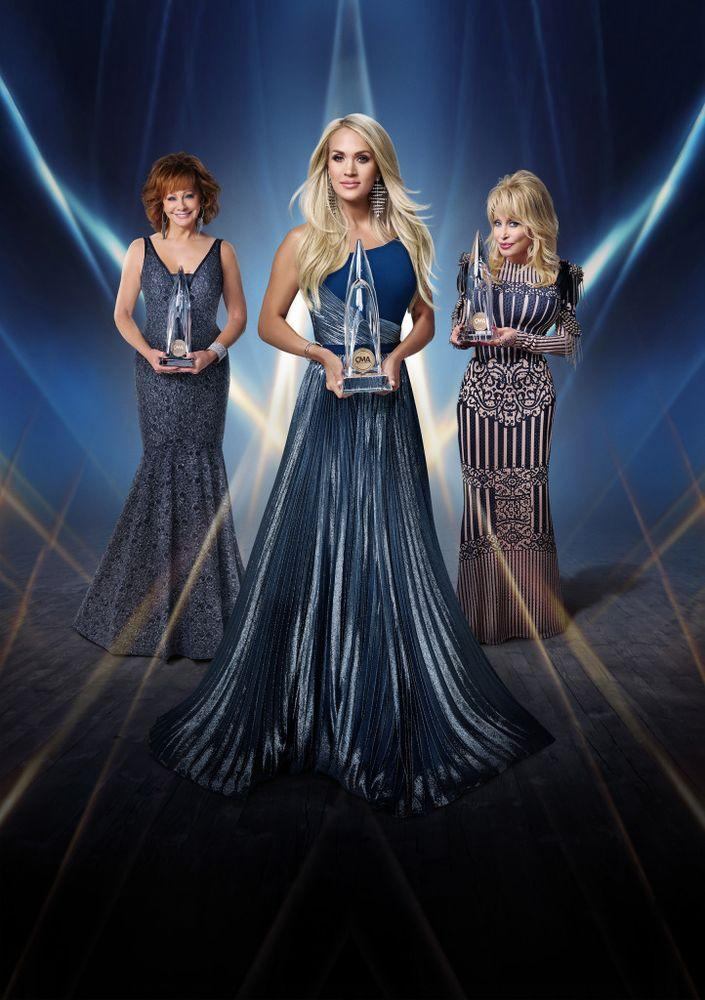 Reba McEntire, Carrie Underwood and Dolly Parton   Mark Seliger/ABC