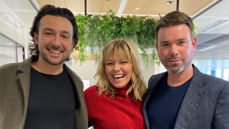 Alex Zane and Dave Berry appear on the latest episode of White Wine Question Time, alongside Kate Thornton