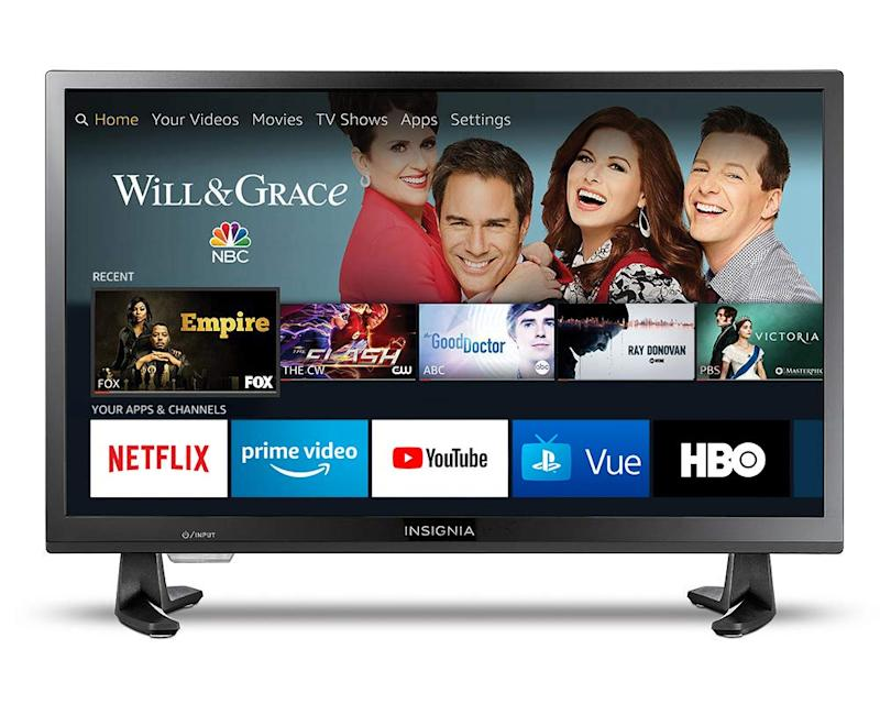 This smart TV has a 4.2 out of 5 star review rating with over 2,300 reviews. (Photo: Amazon)