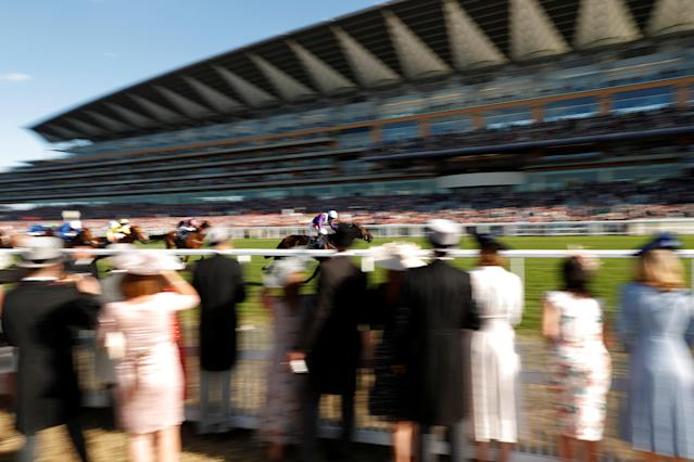 Horse Racing - Royal Ascot - Ascot Racecourse, Ascot, Britain - June 22, 2018 Dash Of Spice ridden by Silvestre de Sousa wins the 5.35 Duke Of Edinburgh Stakes Action Images via Reuters/Andrew Boyers