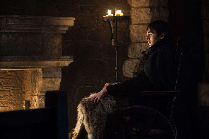 Bran searching the web.