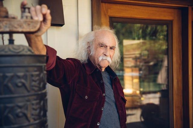 """David Crosby releases his latest solo album, """"For Free,"""" on July 23, 2021."""