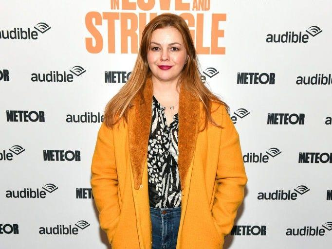 "Amber Tamblyn in 2020. <p class=""copyright"">Craig Barritt/Getty Images for Audible</p>"