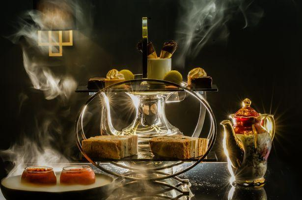 """<p>It's all a bit theatrical with tea at The Edgbaston. The boutique hotel is decked out like a Great Gatsby daydream, and the sweet bites on offer mix quirky flavours. The tea costs £22 per person. </p><p><a rel=""""nofollow noopener"""" href=""""http://www.theedgbaston.co.uk/"""" target=""""_blank"""" data-ylk=""""slk:Theedgbaston.co.uk"""" class=""""link rapid-noclick-resp""""><b>Theedgbaston.co.uk</b></a></p>"""