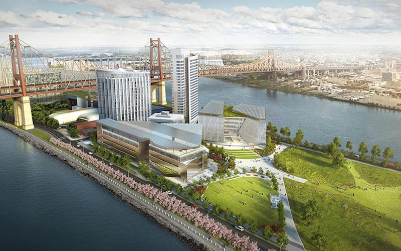 Graduate Hotel Roosevelt Island will sit at the entrance to the new Cornell Tech campus.