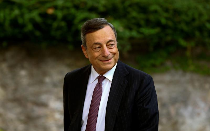 Mario Draghi, president of the European Central Bank - REUTERS