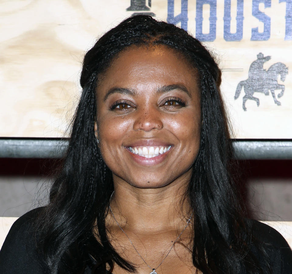 Jemele Hill was suspended by ESPN after violating the company's social media policy. (AP)