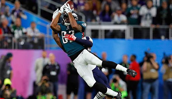 NFL: Eagles traden Torrey Smith zu den Panthers
