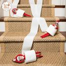 """<p>Elves fit perfectly into the cardboard tubes that hold toilet paper. Roll them down the stairs, and see what happens!</p><p><a href=""""https://instagram.com/p/v3Y7aNp7nR/&hidecaption=true"""" rel=""""nofollow noopener"""" target=""""_blank"""" data-ylk=""""slk:See the original post on Instagram"""" class=""""link rapid-noclick-resp"""">See the original post on Instagram</a></p>"""