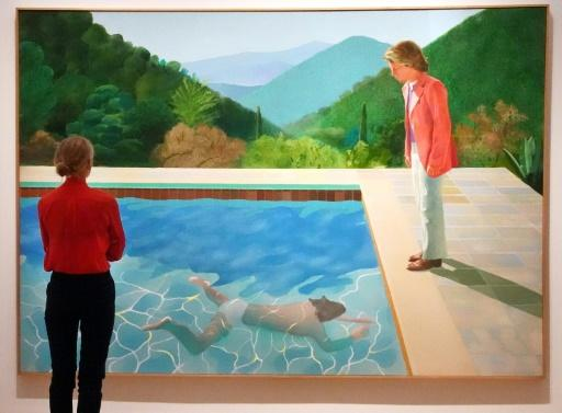 David Hockney painting expected to break auction records