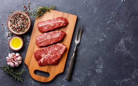 Scientists may believe the link between red meat and colorectal cancer is pretty certain, but the level of risk is fairly small - Credit: The Picture Pantry/Alloy