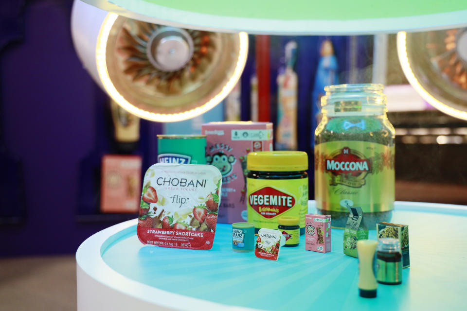 SYDNEY, AUSTRALIA - JULY 13: Little Shop mini collectables at Westfield Eastgardens for the release of new  Coles Little Shop mini collectables on July 13, 2019 in Sydney, Australia. Coles is releasing a new collection of 30 mini collectables of iconic supermarket products from Wednesday 17 July. (Photo by Hanna Lassen/Getty Images for Coles)