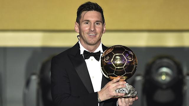 Lionel Messi Ballon d'Or 2015