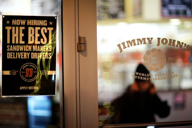 Jimmy John's is the eighth most expensed restaurants among business travelers, according to Certify. The average amount spent there is $39.27.