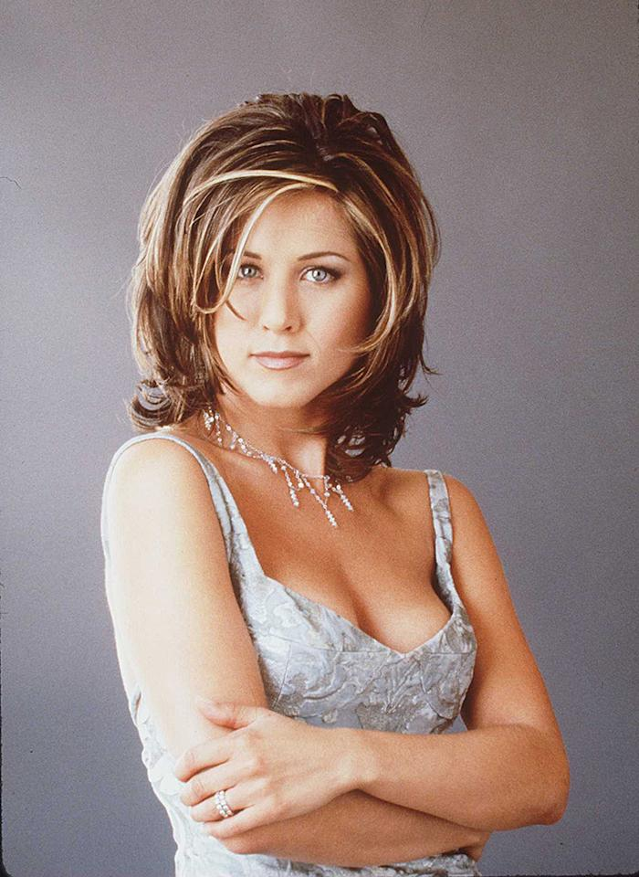 "1996 JENNIFER ANISTON OF THE TV HIT SERIES ""FRIENDS"""