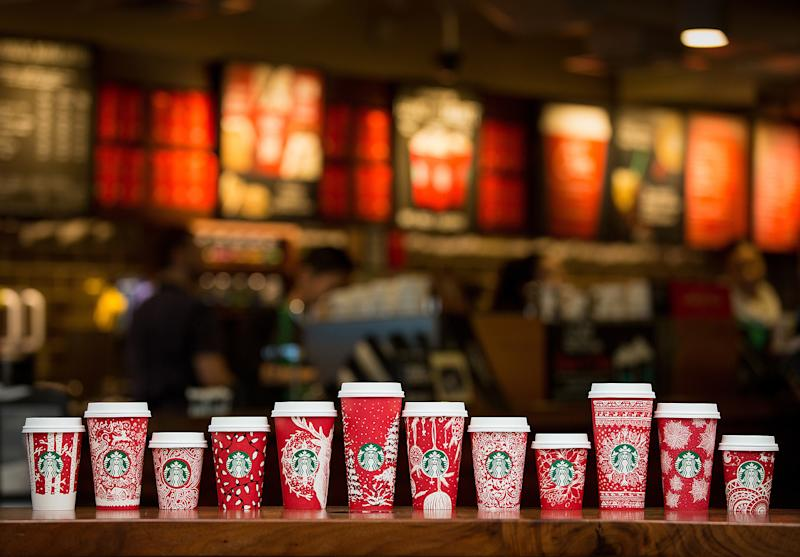 Starbucks Debuts 13 New Red Holiday Cups for 2016 Season: Watch!