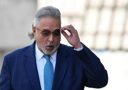 Indian tycoon Vijay Mallya arrives at Westminster Magistrates Court in London, Britain, March 16, 2018.  REUTERS/Toby Melville