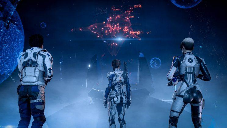 Mass Effect Andromeda quest organization.