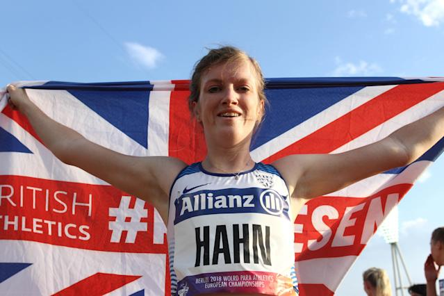 Sophie Hahn is hoping to add to her tally of five World Championship gold medals in Dubai