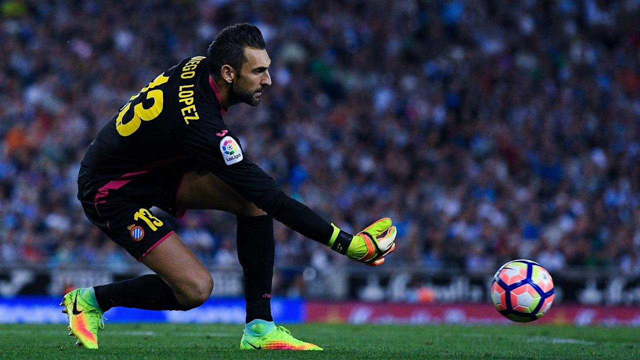 Diego Lopez kept 11 clean sheets in 35 LaLiga games on loan at  Espanyol this term and has been rewarded with a full-time move from Milan.