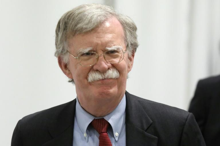 US National Security Advisor John Bolton attends the Grop of 20 summit in Osaka in June 2019