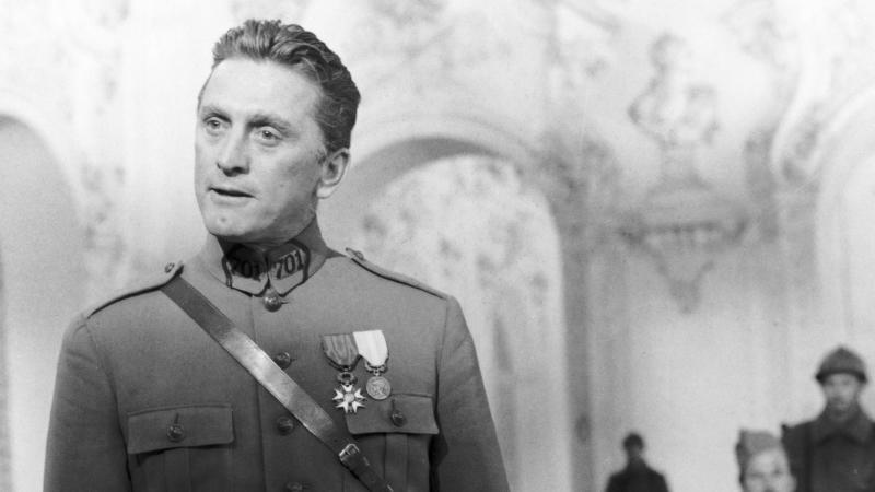 Kirk Douglas in Stanley Kubrick's First World War drama 'Paths of Glory'. (Credit: United Artists)