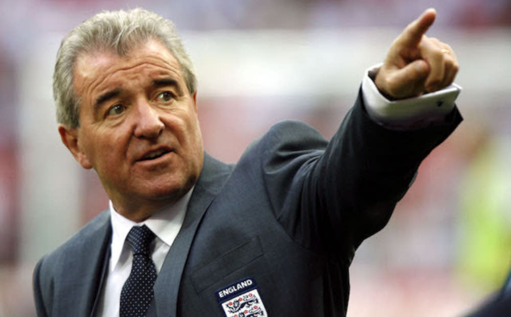 'If I Can Dream' explores the legacy of former England manager Terry Venables, on and off the pitch. (AP Photo/Tom Hevezi/Sky)