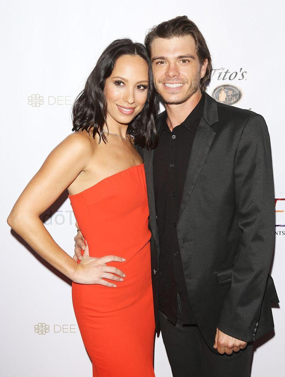 <p><em>DWTS </em>pro dancer Cheryl Burke first met actor Matthew Lawrence on the set of the reality show—but he wasn't competing. Nope, Cheryl was paired up with Matthew's older brother, Joey Lawrence. Cheryl and Matthew began dating in 2006 and got married in 2019. </p>